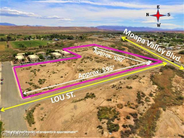 0 Moapa Valley Blvd., Overton, NV 89040 (MLS #2136457) :: Signature Real Estate Group