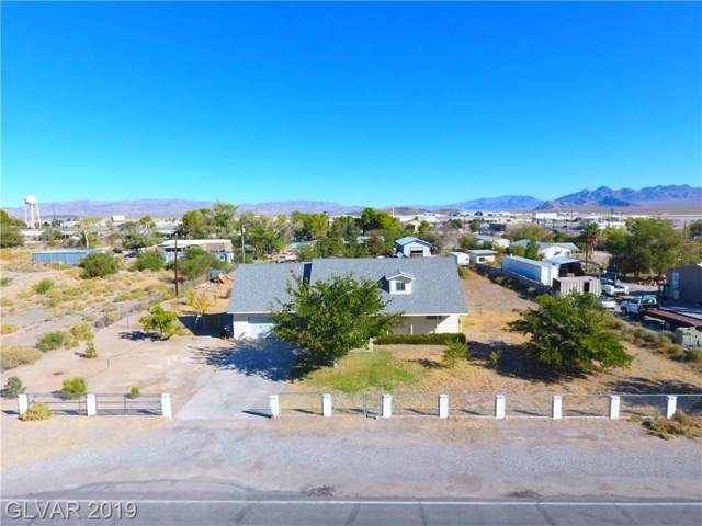 210 Clark, Indian Springs, NV 89018 (MLS #2136488) :: The Snyder Group at Keller Williams Marketplace One