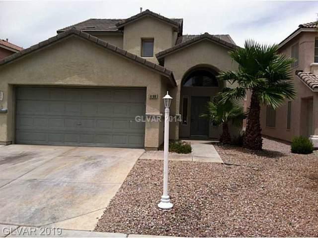 6188 Stone Hollow, Las Vegas, NV 89156 (MLS #2136624) :: Signature Real Estate Group
