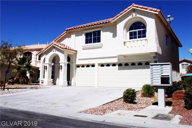 668 Pepperwood Grove, Las Vegas, NV 89183 (MLS #2136651) :: Capstone Real Estate Network