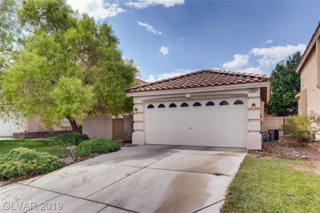7663 Magic Cove, Las Vegas, NV 89139 (MLS #2137626) :: The Snyder Group at Keller Williams Marketplace One