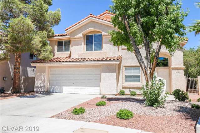 2191 Eaglecloud, Henderson, NV 89074 (MLS #2137637) :: The Snyder Group at Keller Williams Marketplace One