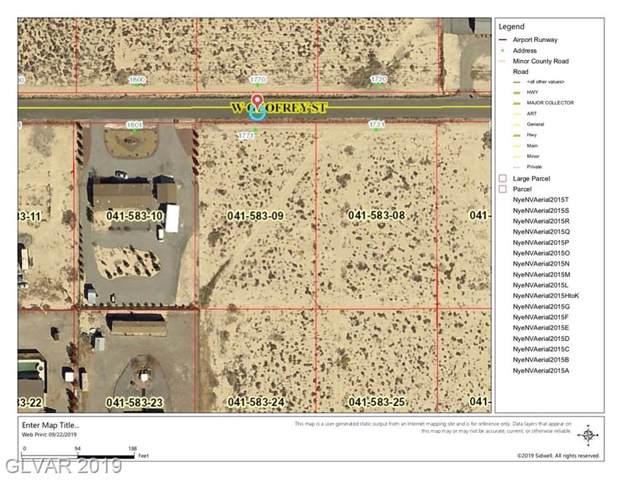 1771 W Geofrey, Pahrump, NV 89060 (MLS #2137831) :: The Lindstrom Group