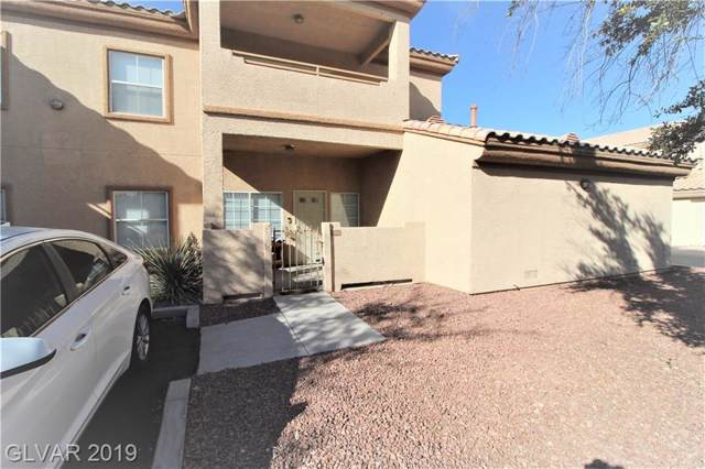 3601 Galatea #103, Las Vegas, NV 89108 (MLS #2138935) :: Trish Nash Team