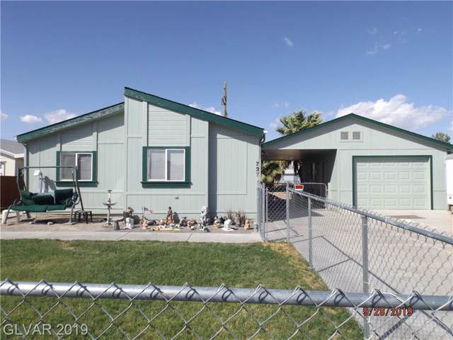 737 Lillian Condie, Overton, NV 89040 (MLS #2139727) :: The Snyder Group at Keller Williams Marketplace One