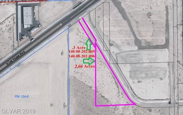N Las Vegas, Las Vegas, NV 89115 (MLS #2139751) :: The Snyder Group at Keller Williams Marketplace One
