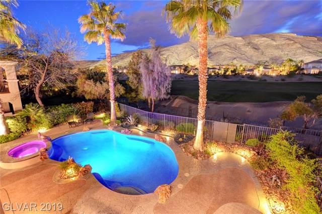 2695 Grassy Spring, Las Vegas, NV 89135 (MLS #2140602) :: The Snyder Group at Keller Williams Marketplace One