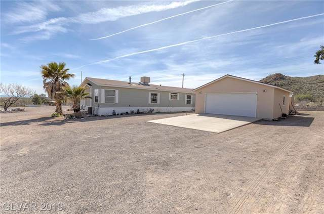 410 Hobson Street, Searchlight, NV 89046 (MLS #2140791) :: The Lindstrom Group
