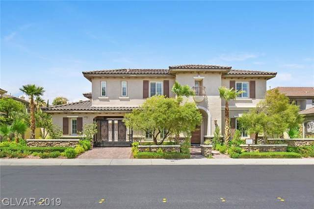 11664 Morning Grove, Las Vegas, NV 89135 (MLS #2140871) :: The Snyder Group at Keller Williams Marketplace One