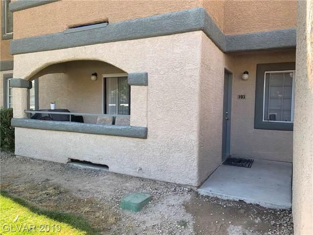 201 Mission Laguna #103, Las Vegas, NV 89107 (MLS #2140920) :: Trish Nash Team