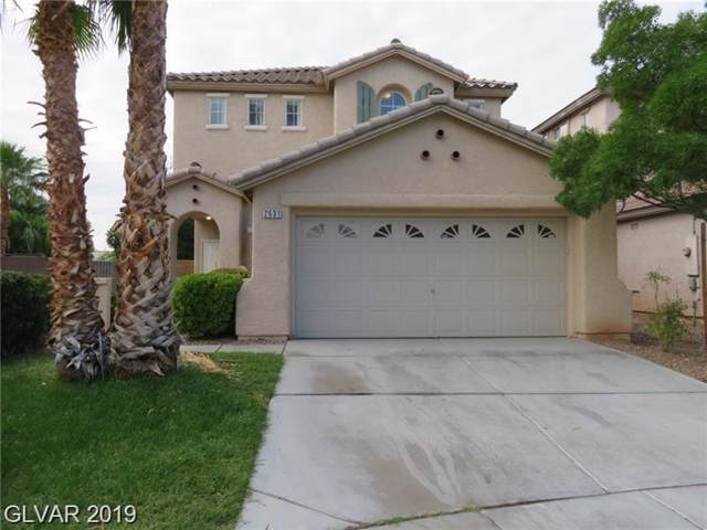2631 Country Mile, Las Vegas, NV 89135 (MLS #2142176) :: Hebert Group | Realty One Group