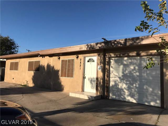 2821 Howard, Las Vegas, NV 89104 (MLS #2142201) :: The Snyder Group at Keller Williams Marketplace One