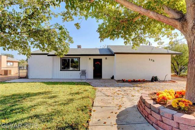 175 Perkins, Overton, NV 89040 (MLS #2143100) :: The Snyder Group at Keller Williams Marketplace One