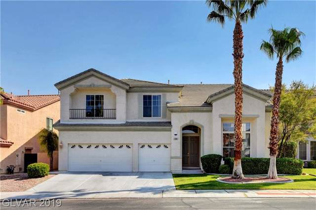 168 Tamarron Cliffs, Las Vegas, NV 89148 (MLS #2143116) :: The Snyder Group at Keller Williams Marketplace One