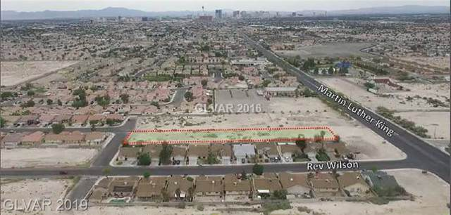 10 Lots Windsor Whole Block, North Las Vegas, NV 89101 (MLS #2143292) :: Performance Realty
