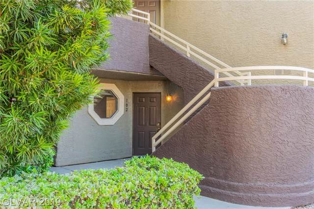5026 S Rainbow #102, Las Vegas, NV 89118 (MLS #2143460) :: Performance Realty
