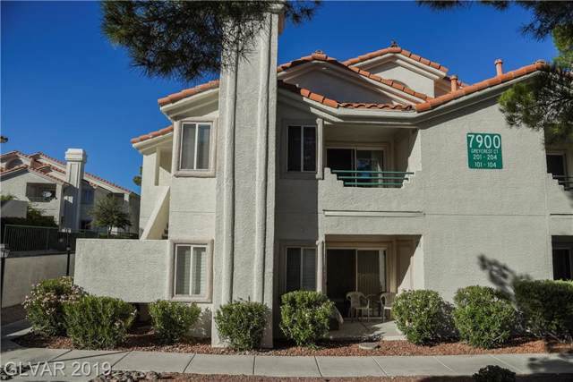 7900 Greycrest Court #201, Las Vegas, NV 89145 (MLS #2144179) :: Jeffrey Sabel