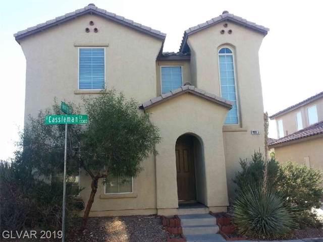 10377 Casselman, Las Vegas, NV 89183 (MLS #2144322) :: Signature Real Estate Group