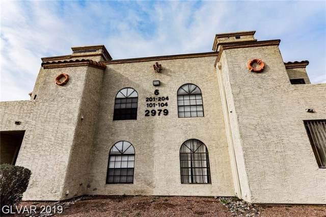 2979 Juniper Hills #202, Las Vegas, NV 89142 (MLS #2144385) :: Hebert Group   Realty One Group