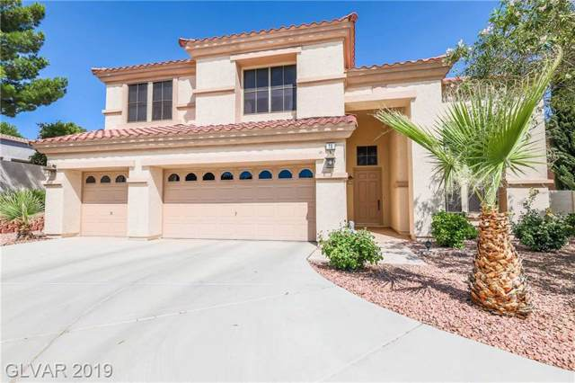 70 Bridal Falls, Las Vegas, NV 89148 (MLS #2144539) :: The Snyder Group at Keller Williams Marketplace One