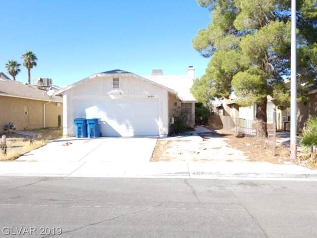 4424 Mossy Rock, Las Vegas, NV 89108 (MLS #2144633) :: The Snyder Group at Keller Williams Marketplace One
