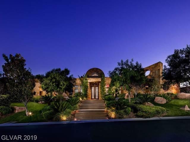 15 Golden Sunray, Las Vegas, NV 89135 (MLS #2144823) :: Signature Real Estate Group