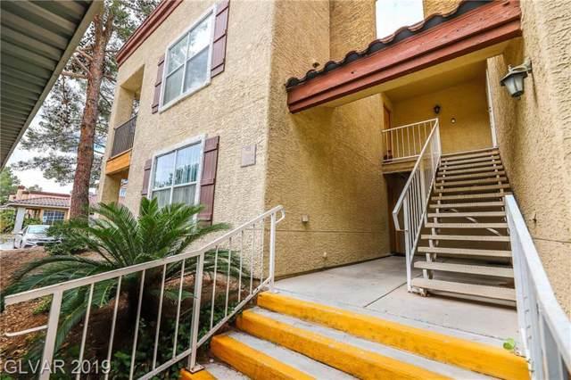 2801 Rainbow #105, Las Vegas, NV 89108 (MLS #2144941) :: Signature Real Estate Group