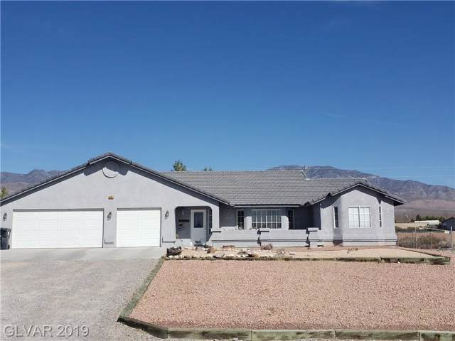 5901 N Genoa, Pahrump, NV 89060 (MLS #2145287) :: The Snyder Group at Keller Williams Marketplace One