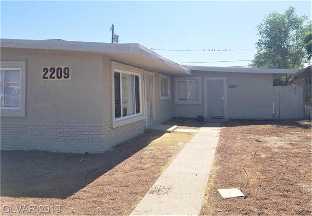 2209 Stanley, North Las Vegas, NV 89030 (MLS #2145857) :: The Snyder Group at Keller Williams Marketplace One