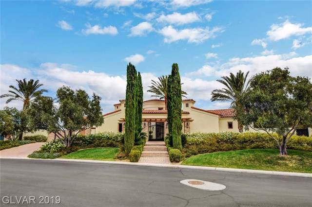 34 Olympia Hills, Las Vegas, NV 89141 (MLS #2146173) :: The Snyder Group at Keller Williams Marketplace One