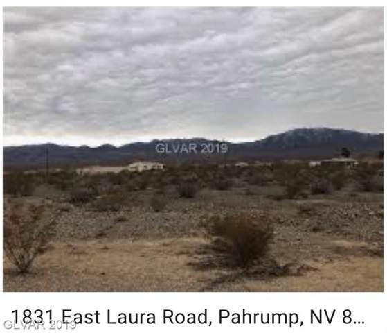 1831 E Laura, Pahrump, NV 89060 (MLS #2146348) :: Trish Nash Team