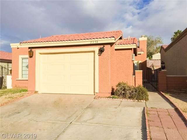 2350 Sierra Sunrise, Las Vegas, NV 89156 (MLS #2147168) :: Vestuto Realty Group