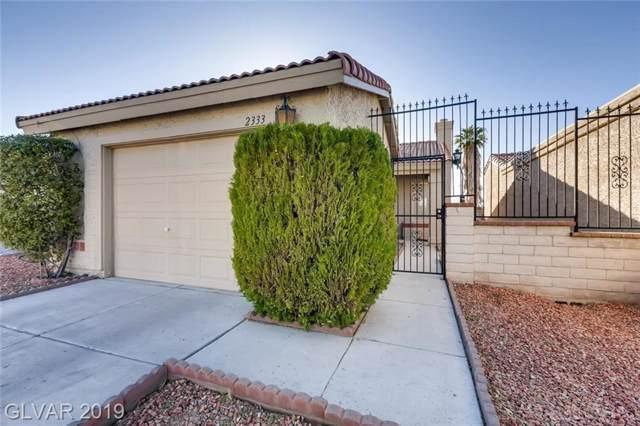 2333 Sabroso, Las Vegas, NV 89156 (MLS #2147437) :: Vestuto Realty Group
