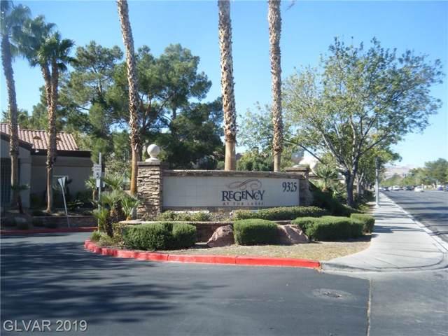 9325 W Desert Inn #229, Las Vegas, NV 89117 (MLS #2147604) :: Hebert Group | Realty One Group