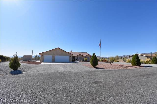 4261 W Joann, Pahrump, NV 89048 (MLS #2147803) :: The Snyder Group at Keller Williams Marketplace One