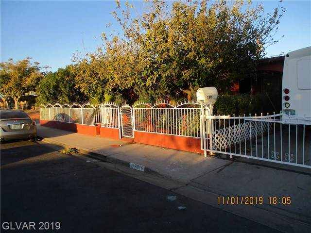 2816 Holmes, North Las Vegas, NV 89030 (MLS #2148563) :: Signature Real Estate Group