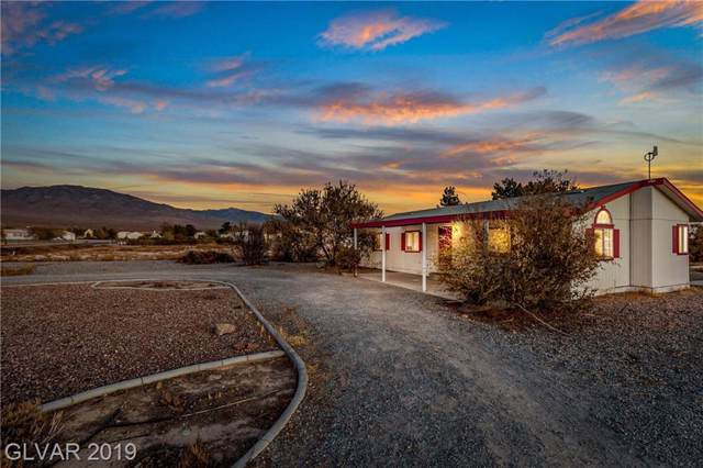 441 W Megan, Pahrump, NV 89060 (MLS #2149386) :: The Snyder Group at Keller Williams Marketplace One