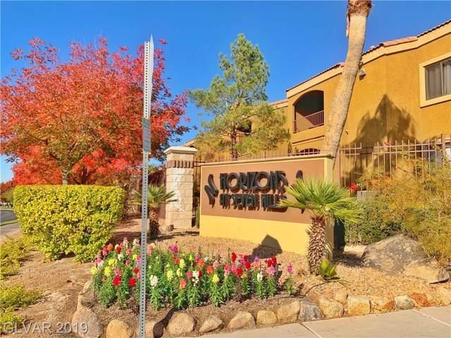 950 Seven Hills #1611, Henderson, NV 89052 (MLS #2150090) :: Signature Real Estate Group