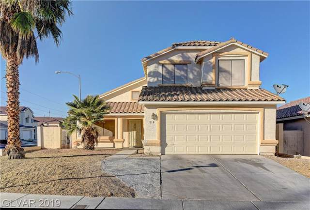 218 Winley Chase, North Las Vegas, NV 89032 (MLS #2150284) :: Signature Real Estate Group