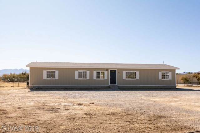 521 W Shady, Pahrump, NV 89048 (MLS #2150465) :: The Snyder Group at Keller Williams Marketplace One