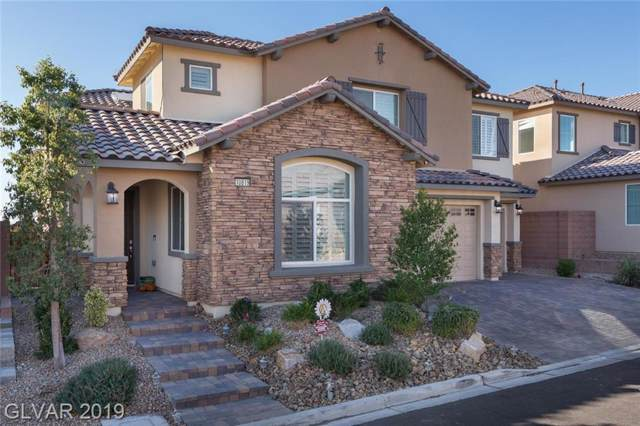 10819 Hammett Park, Las Vegas, NV 89166 (MLS #2150661) :: Signature Real Estate Group