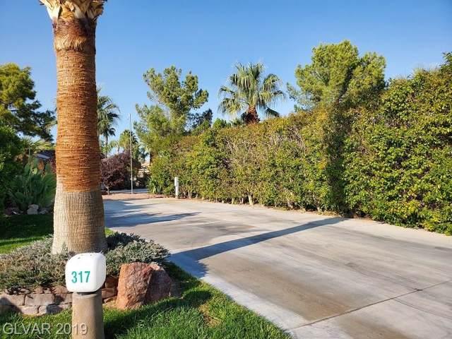 8175 Arville Street #317, Las Vegas, NV 89139 (MLS #2151309) :: The Lindstrom Group