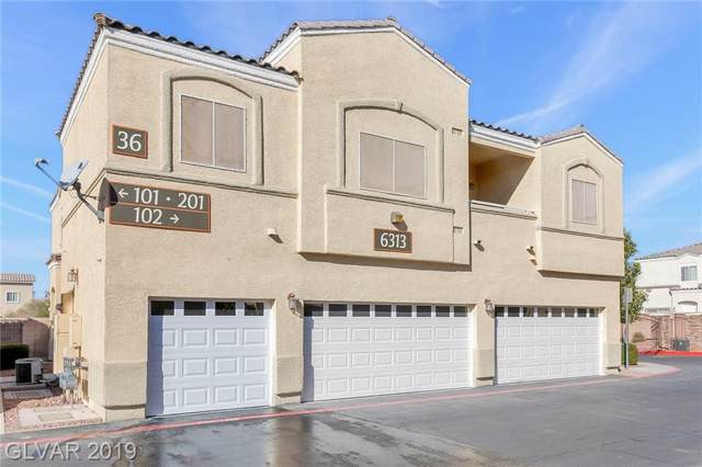 6313 Desert Leaf #201, North Las Vegas, NV 89081 (MLS #2151447) :: Signature Real Estate Group