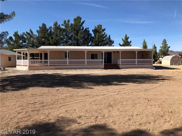 3450 W Prospector, Pahrump, NV 89048 (MLS #2151568) :: The Snyder Group at Keller Williams Marketplace One