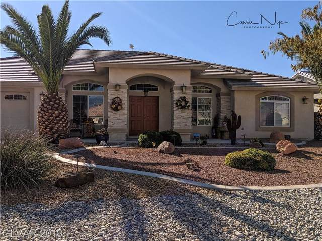 5231 E Graystone, Pahrump, NV 89061 (MLS #2151579) :: The Snyder Group at Keller Williams Marketplace One