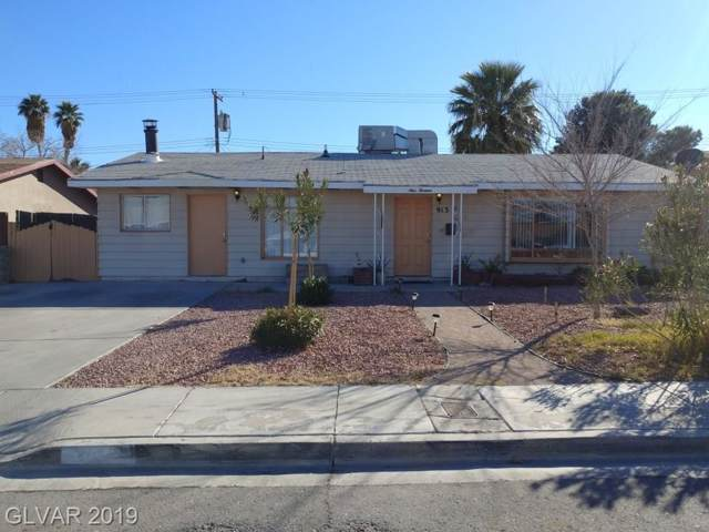 913 E Webb, North Las Vegas, NV 89030 (MLS #2151619) :: Signature Real Estate Group
