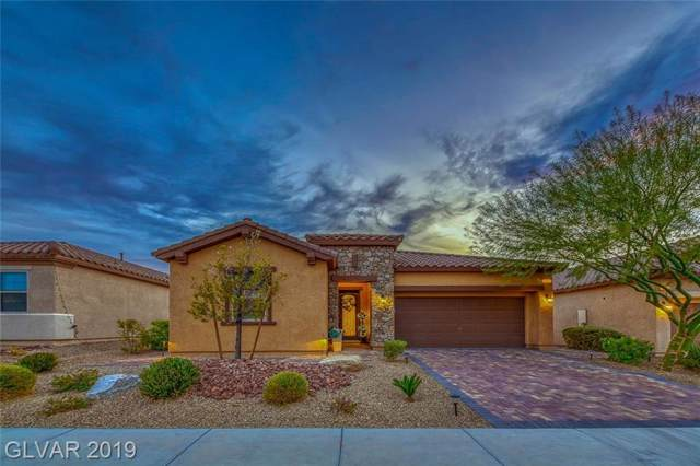 1027 Via Saint Lucia, Henderson, NV 89011 (MLS #2151650) :: Trish Nash Team