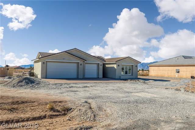 241 E Kiowa, Pahrump, NV 89048 (MLS #2151969) :: The Snyder Group at Keller Williams Marketplace One