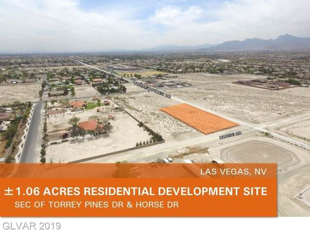 Horse Dr, Las Vegas, NV 89131 (MLS #2152037) :: Trish Nash Team