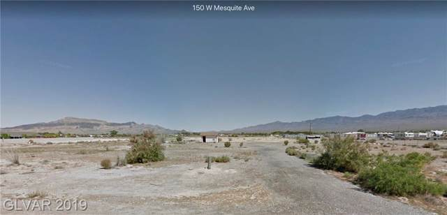 150 W Mesquite, Pahrump, NV 89060 (MLS #2153195) :: The Snyder Group at Keller Williams Marketplace One